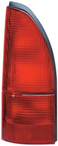 All-red Nissan Quest Lamp